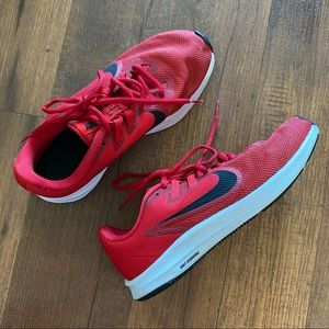 Nike Downshifter Womens Running Sneakers Red